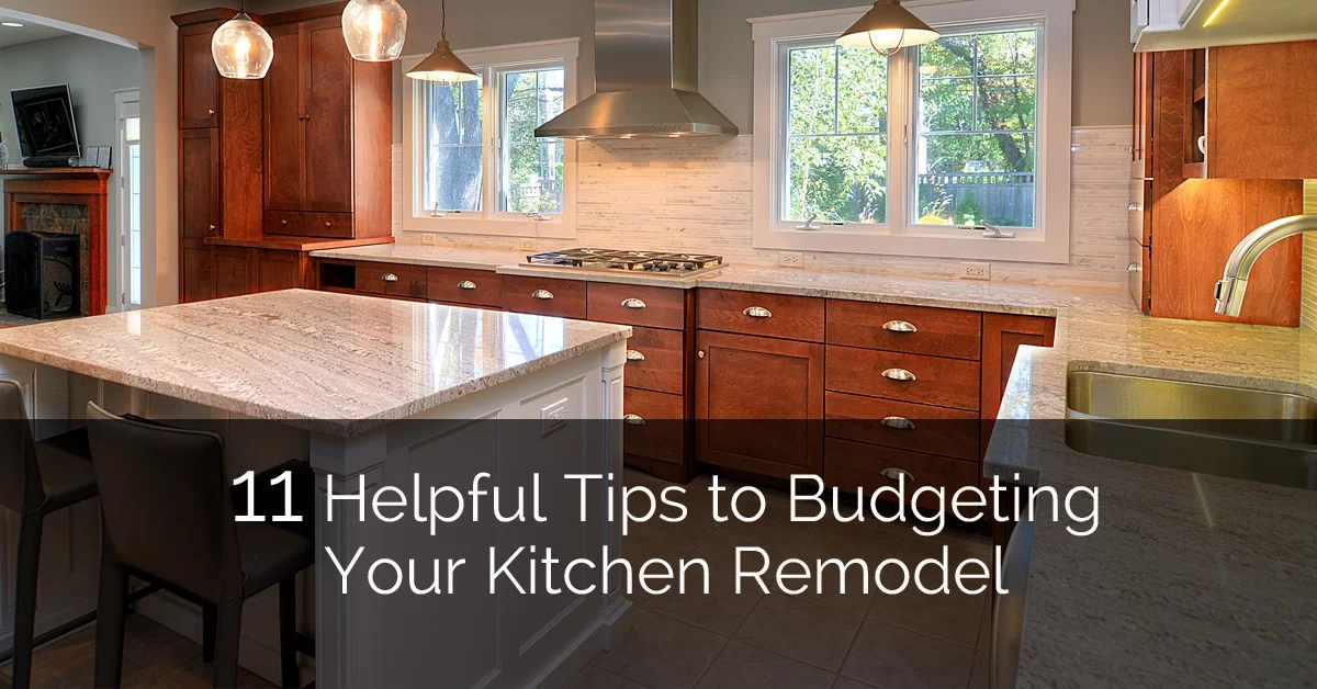 kitchen remodel budget sink clog 11 helpful tips to budgeting your home remodeling contractors sebring design build