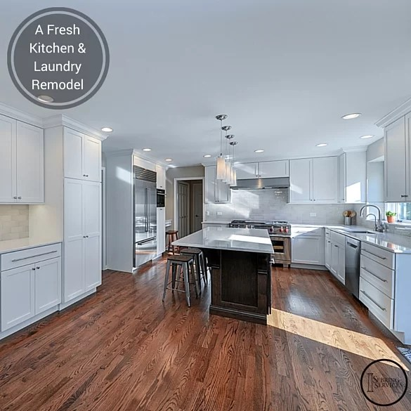 A Fresh Kitchen & Laundry Remodel Home Remodeling Contractors