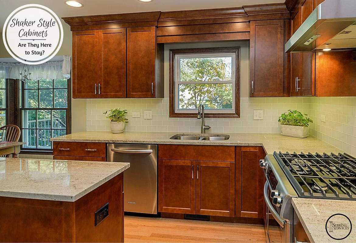 Shaker Style Cabinets Are They Here to Stay  Home