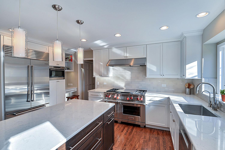 derek & christine's kitchen remodel pictures | home remodeling
