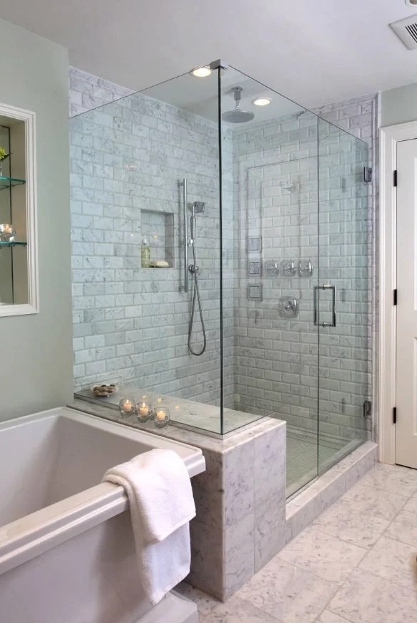 27 walk in shower tile ideas that will inspire you | home remodeling