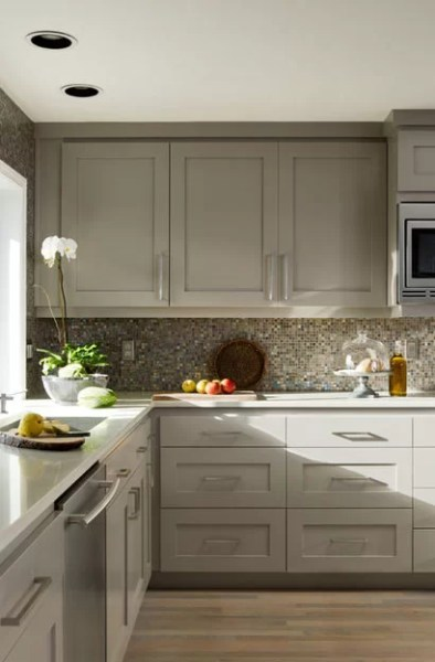 best color for gray kitchen cabinets The Psychology of Why Gray Kitchen Cabinets Are So Popular