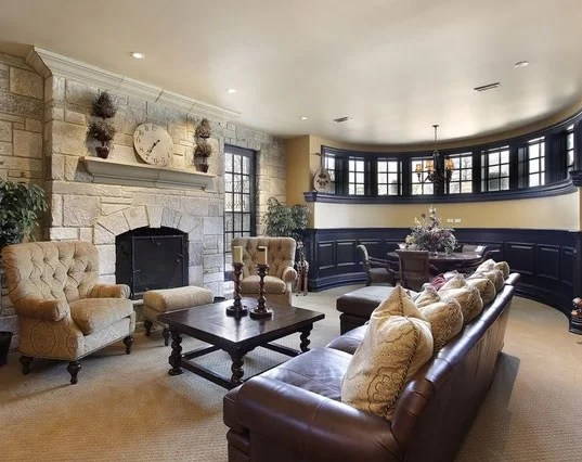wainscoting ideas for living room chocolate brown and turquoise 39 of the best your next project home most desirable wainscoating sebring services