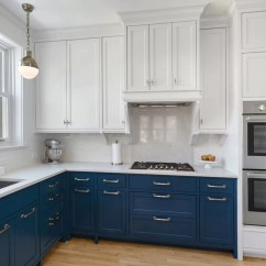 Blue Kitchen Cabinet Knobs Cabinets Used Design Trend And 30 Ideas To Get You
