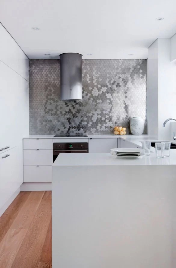 white kitchen faucet pull down cleaning supplies 71 exciting backsplash trends to inspire you ...