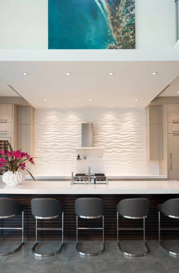 Wave Tile Backsplash Tile Design Ideas