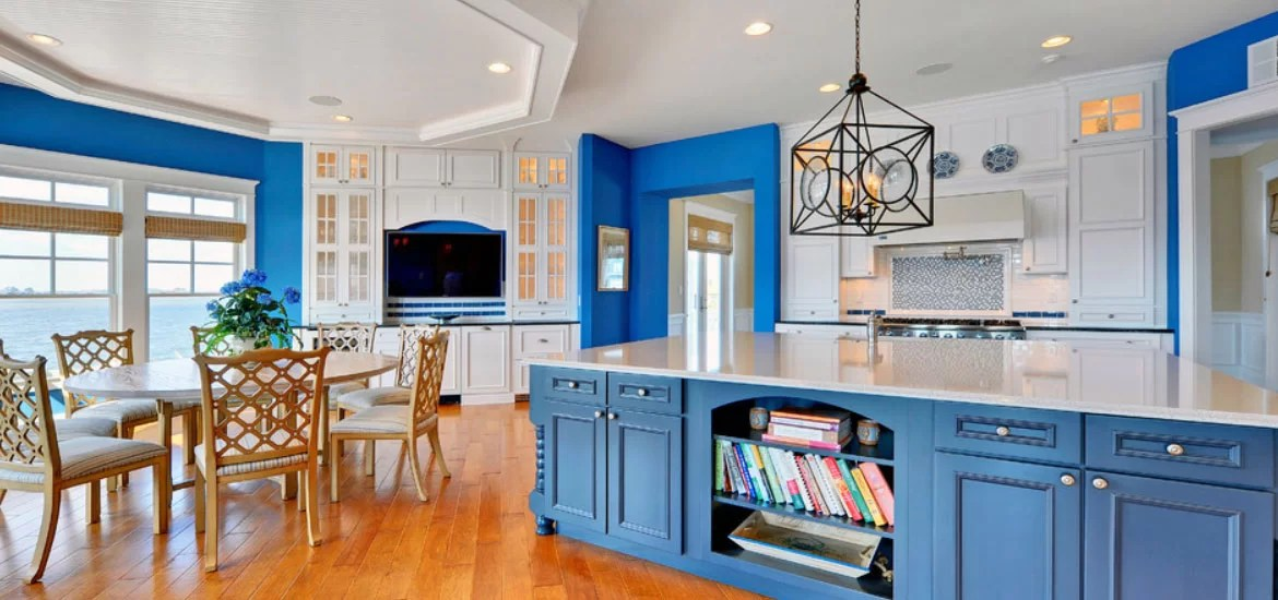 Design Trend Blue Kitchen Cabinets & 30 Ideas To Get You