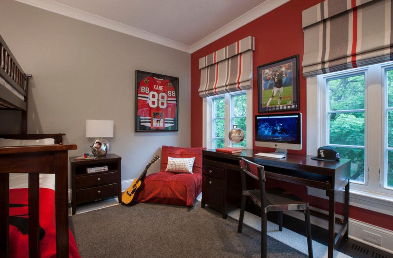 47 Really Fun Sports Themed Bedroom Ideas