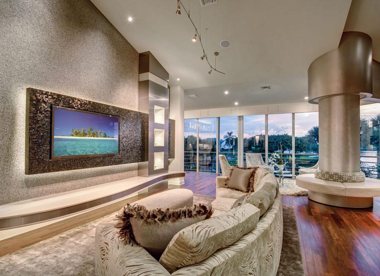 tv wall mounts ideas