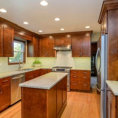 Vinyl Wallpaper Kitchen Backsplash Pull Up Cabinets 30 Classy Projects With Dark | Home ...