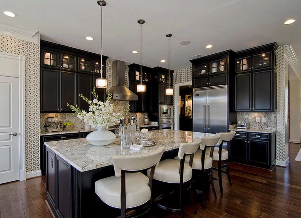 dark kitchen floors repainting cabinets 30 classy projects with home remodeling sebring services