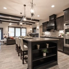 Kitchen Black Cabinets Mobile Kitchens Sale 30 Classy Projects With Dark Home Remodeling Sebring Services