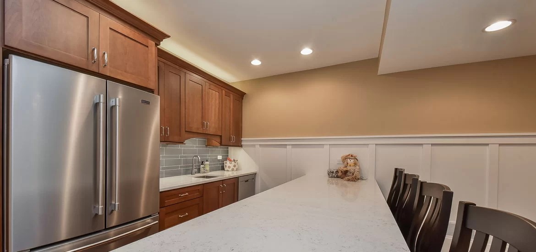 8 Top Trends in Basement Wet Bar Design for 2018  Home Remodeling Contractors  Sebring Design