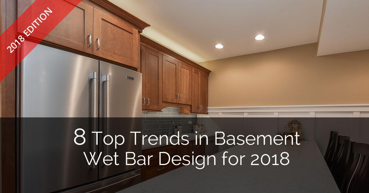 8 Top Trends In Basement Wet Bar Design For 2018 Home