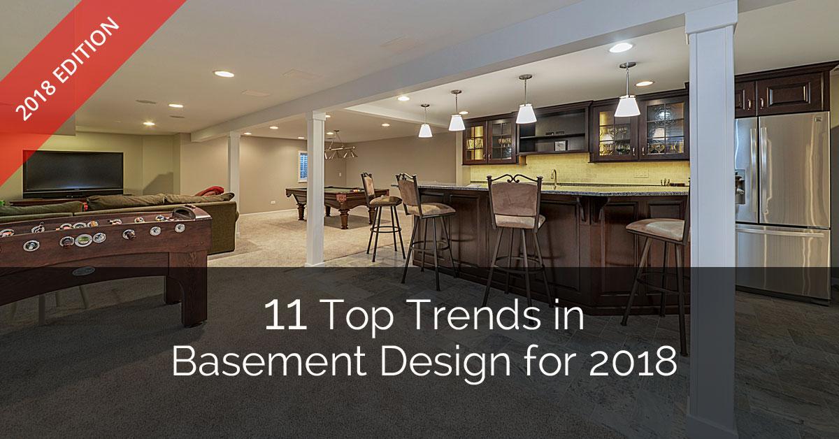 11 Top Trends In Basement Design For 2018