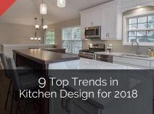 9 Top Trends in Kitchen Design for 2018 | Home Remodeling ...