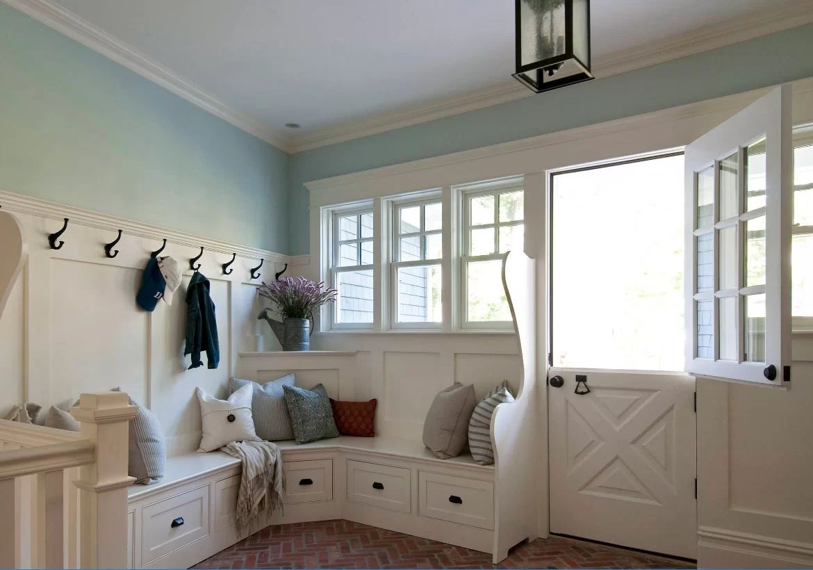 Get Organized with a Mudroom