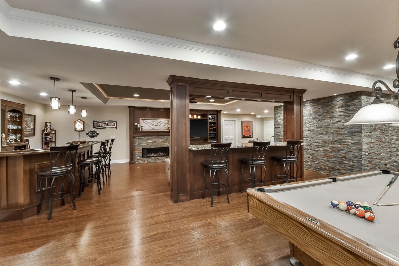 Brian & Kelli&39;s Basement Remodel Pictures   Luxury Home Remodeling   Sebring Design Build