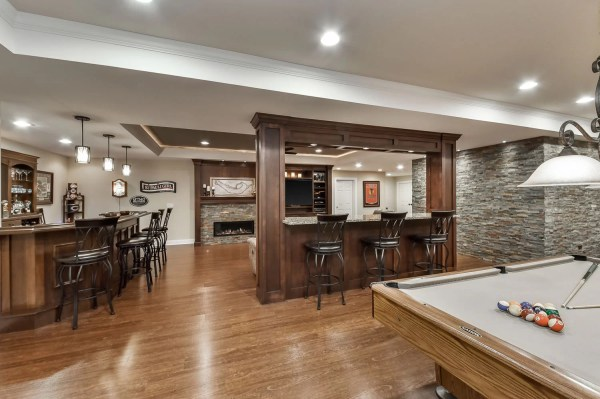Brian & Kelli's Basement Remodel Pictures | Home ...