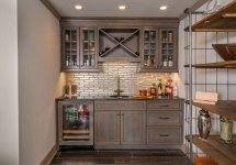Basement Wet Bar Cabinet Ideas
