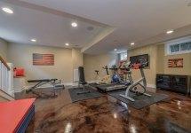 Basement Home Gym Ideas
