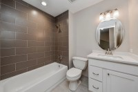 Charles & Cindy's Hall Bathroom Remodel Pictures | Home ...