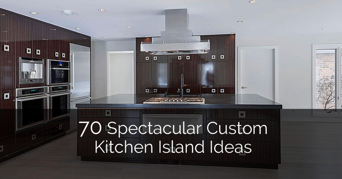 custom kitchen ranges 70 spectacular island ideas home remodeling contractors sebring design build