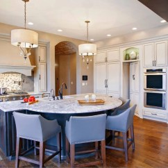 Custom Kitchen Islands Sunflower Accessories 70 Spectacular Island Ideas Home Remodeling Sebring Services