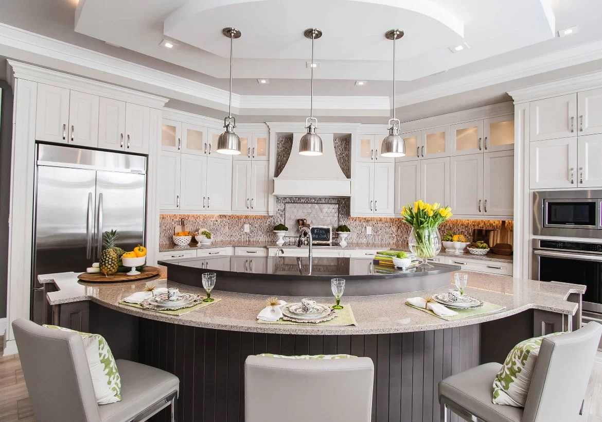 cheap kitchen island ideas cleaning wood cabinets 70 spectacular custom home