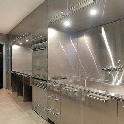 Stainless Kitchen Steel Sinks Sleek Countertop Ideas Guide Home Remodeling Quick Sebring Services