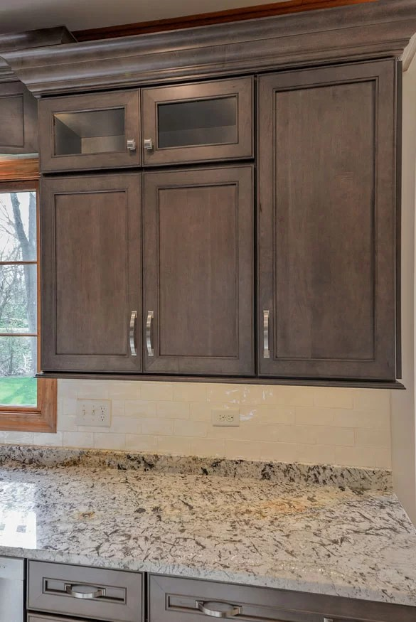 kitchen cabinet photos counter sizes and specifications guide home remodeling wall cabinets are usually hung 18 above countertops 54 floor 24 the stove in an accessible can be at 15