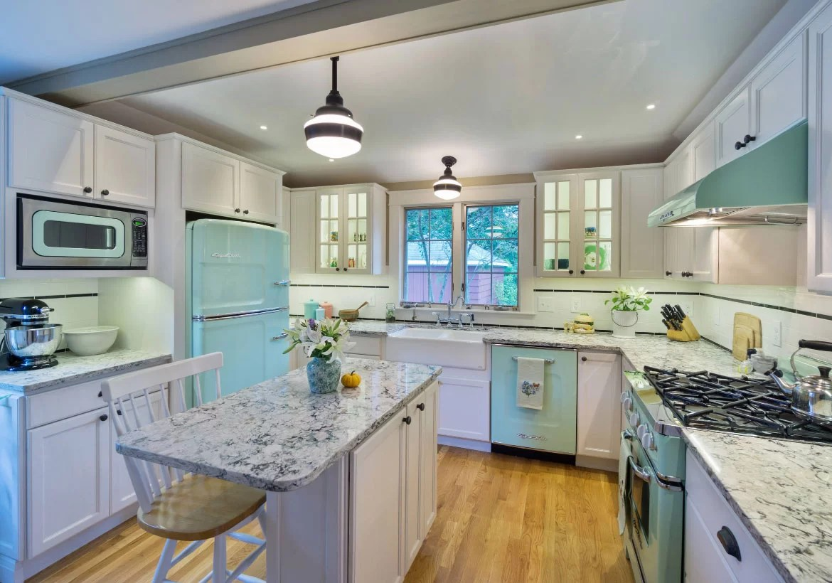 teal kitchen appliances combo colors new and exciting trends home