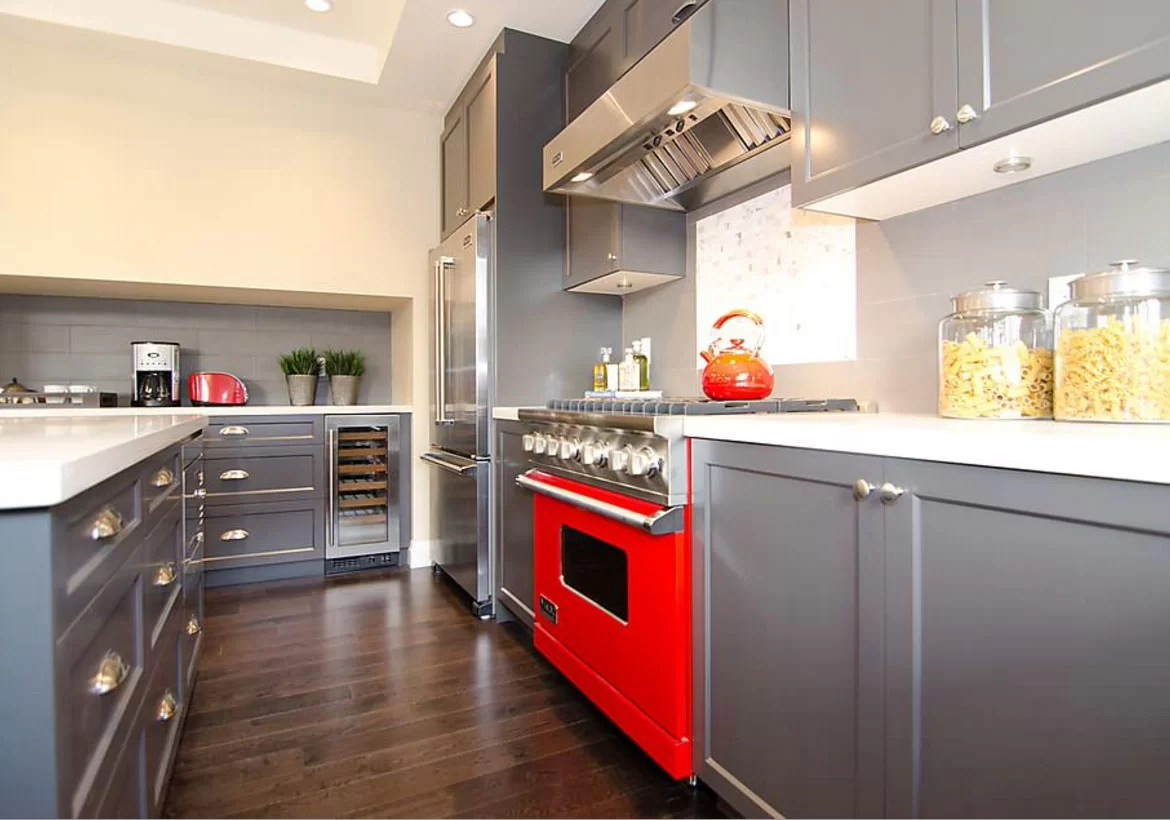 red kitchen appliances kitchens only colors new exciting trends home remodeling