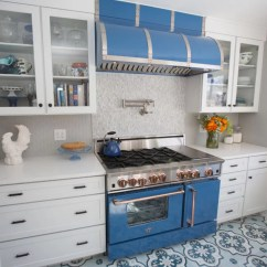 Blue Kitchen Appliances Outdoor Cabinets Kits Colors New And Exciting Trends Home