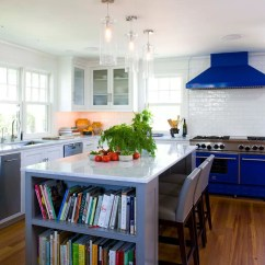 Blue Kitchen Appliances Metal Cabinets Colors New And Exciting Trends Home