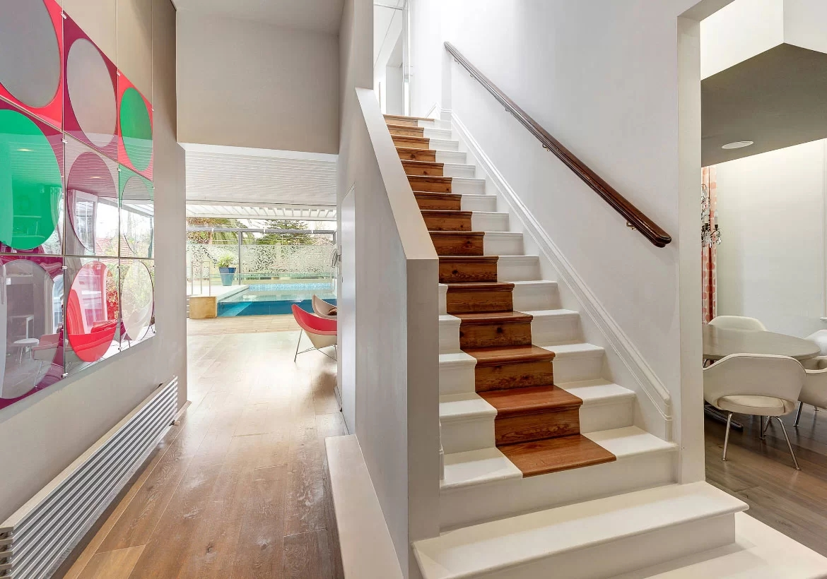 95 Ingenious Stairway Design Ideas For Your Staircase Remodel | New House Steps Design | Kerala Home | Outside | Home Stair Marble | Duplex House | Residential