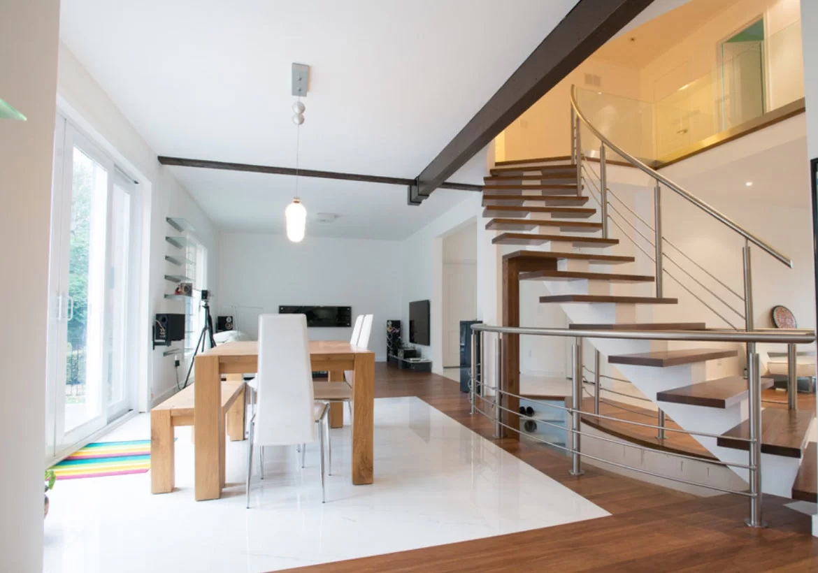95 Ingenious Stairway Design Ideas For Your Staircase Remodel | House Interior Steps Design | Living Room | White | Architecture | Small | Low Cost