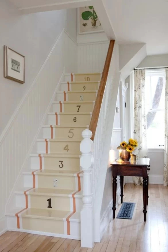 95 Ingenious Stairway Design Ideas For Your Staircase Remodel | Simple Staircase Designs For Homes | Stylish | Staircase Woodwork | Living Room | Easy | White