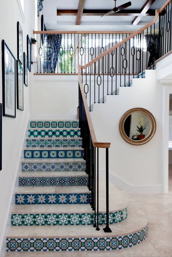 95 Ingenious Stairway Design Ideas For Your Staircase Remodel | Stairs Style For Home | Creative | Inside | Spiral | Country Cottage | Living Room