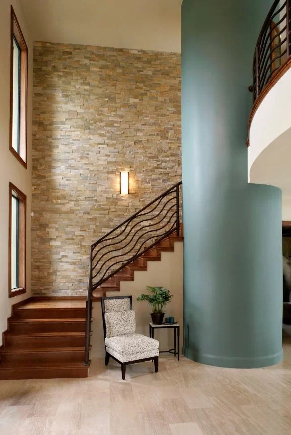 95 Ingenious Stairway Design Ideas For Your Staircase Remodel | Staircase Side Wall Design | Farmhouse | Ladder | Bookshelf | Small Space | Beautiful