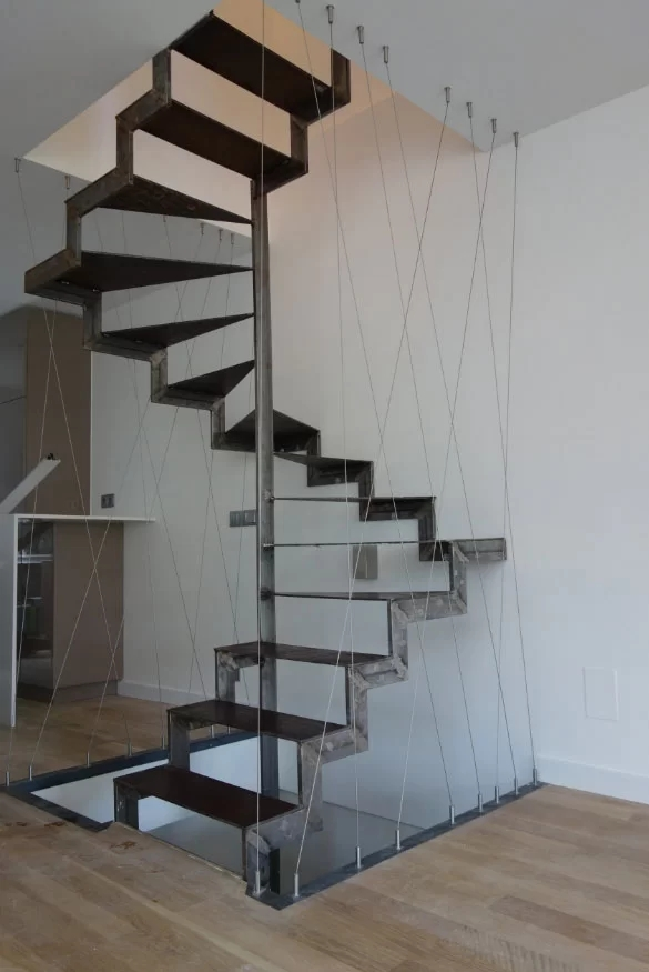 95 Ingenious Stairway Design Ideas For Your Staircase Remodel   Industrial Carpet For Stairs   Shaw Floors   Persian Carpet   Stair Railing   Carpet Workroom   Handrail