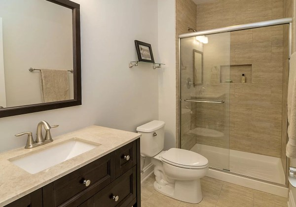 Hall Bathroom Shower Remodeling Ideas