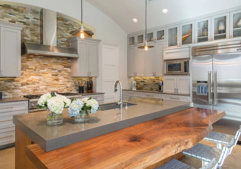 Unique Reclaimed & Live Edge Wood Countertops | Home Remodeling Contractors | Sebring Design Build