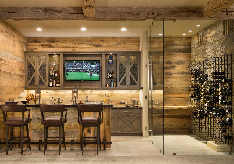 10 Brilliant Ideas that Modernize Rustic Style  Home