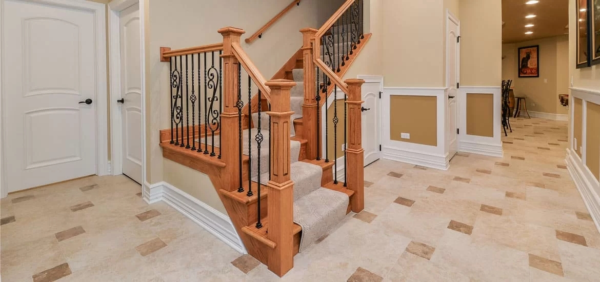 95 Ingenious Stairway Design Ideas For Your Staircase Remodel | Cost Of Staining Stairs | Stair Railings | Hardwood | Stair Tread | Handrail | Basement Stairs