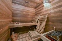 Design Bathroom with Sauna