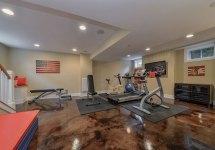 Extraordinary Basement Home Gym Design Ideas