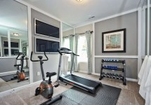 Extraordinary Basement Home Gym Design Ideas