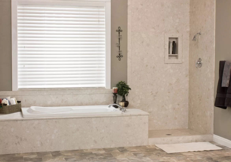 Formica Shower Surround