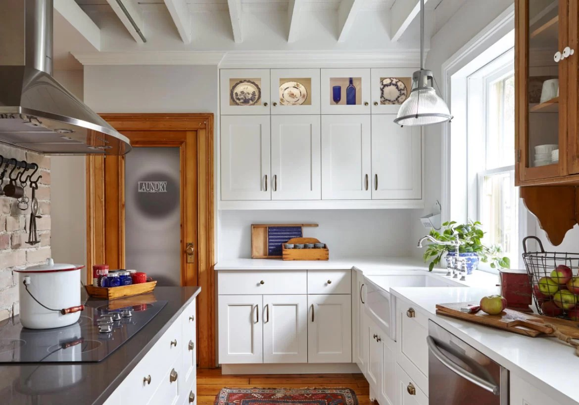 35 Fresh White Kitchen Cabinets Ideas to Brighten Your ...